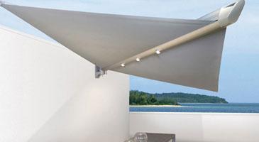 segelschirm defense von corradi und arabella voit aufrollbare sonnensegel raumgestaltung. Black Bedroom Furniture Sets. Home Design Ideas